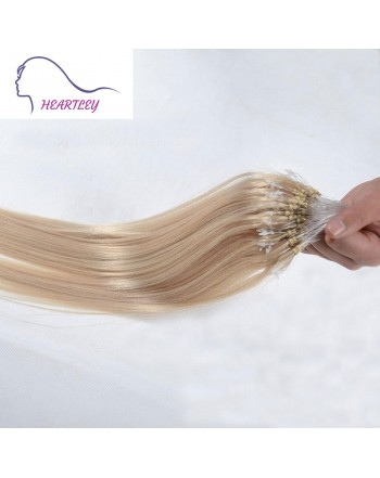 18 Inch Bleached Blonde Hair Extensions