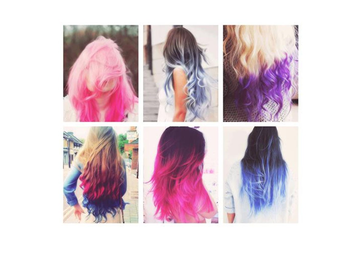 The Trendy Colored Hair Extensions in 2018
